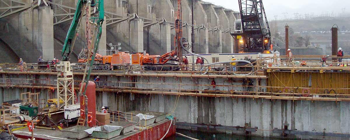 Foundation Monitoring, Dalles Dam