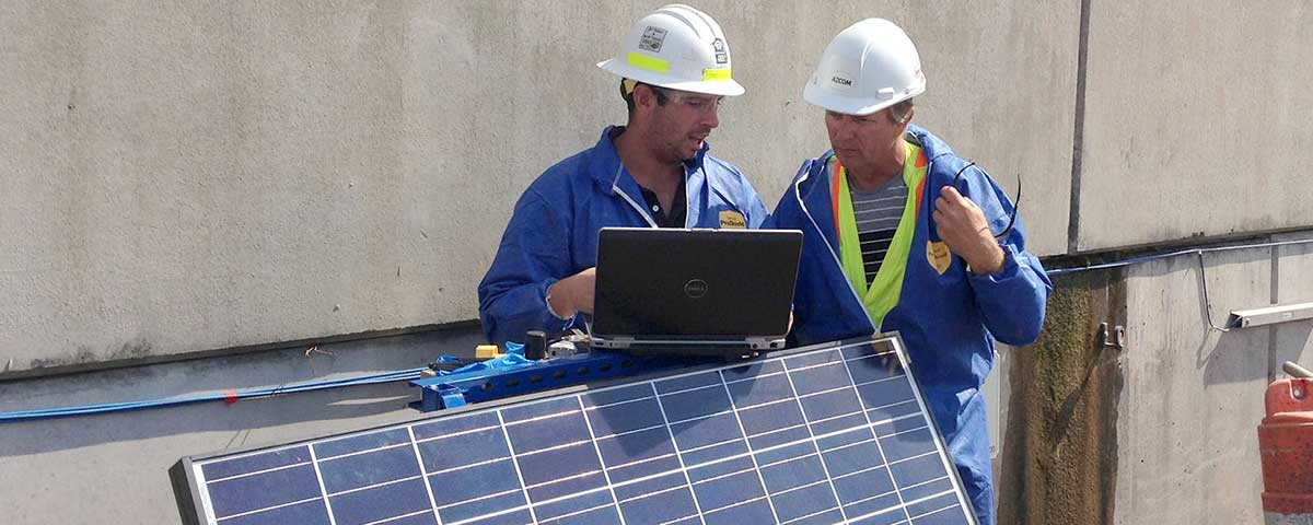 Solar-Powered Monitoring System